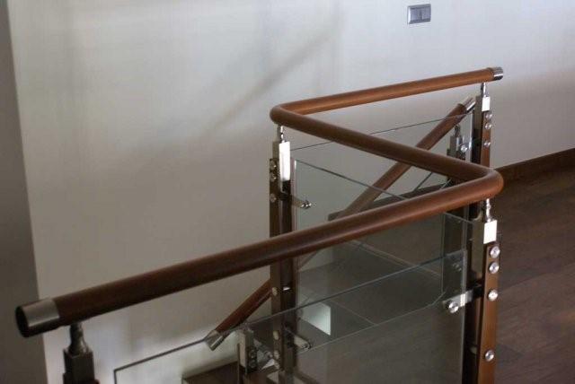 ограждения со стеклом для лестниц